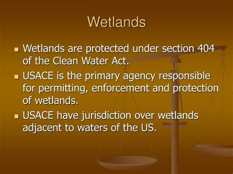 section 404 of the clean water act ppt wetland mitigation powerpoint presentation id 783618