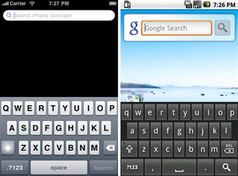 iphone keyboard for android android keyboard vs iphone keyboard