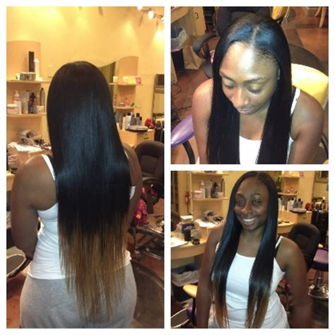 how to leave hair out for sew in inya hair salon gallery transformations
