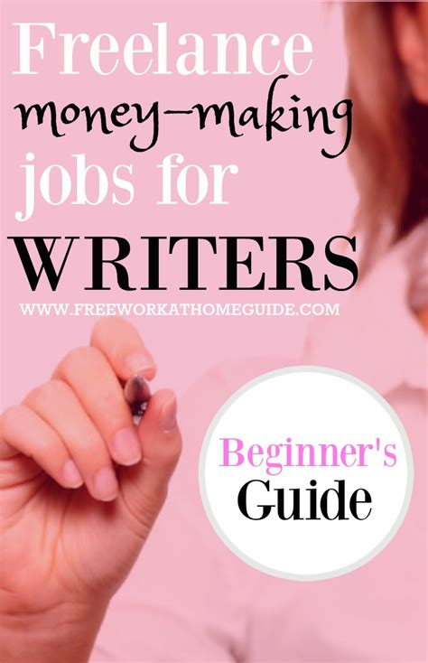Money Making Jobs Online - freelance money making jobs for online writers beginner s guide