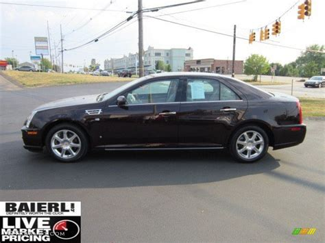Cadillac Sts Awd by 2008 Black Cherry Cadillac Sts 4 V6 Awd 51424959 Photo 4