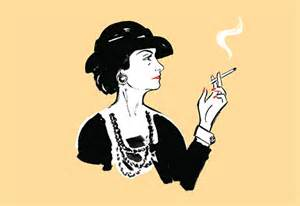 New York Top Bars Coco Chanel Comic Book Pursuitist