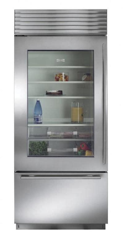 Sub Zero Refrigerator Glass Door 10 Easy Pieces Built In Refrigerators By