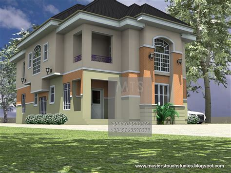 4 Bedroom Duplex Designs Mrs Ifeoma 4 Bedroom Duplex Residential Homes And Designs