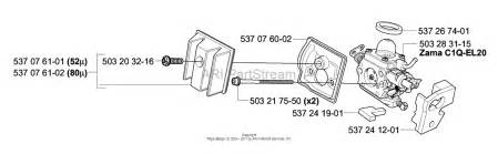 husqvarna 336 2003 10 parts diagram for air filter carburetor