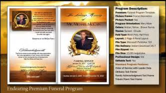 funeral program templates free downloads funeral program template masir