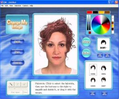 virtual hair colour changer program can change hair colour