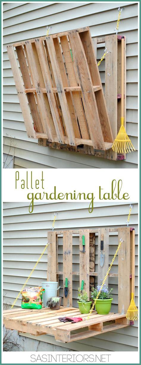 Make A Pallet by Diy Pallet Gardening Table Burger