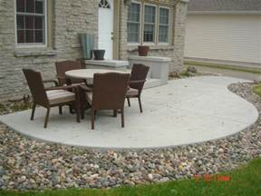 Cost Of Paving Backyard Concrete Patios A Pietig Concrete Amp Brick Paving