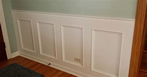 how to make a recessed wainscoting wall from scratch - Wainscoting From Scratch