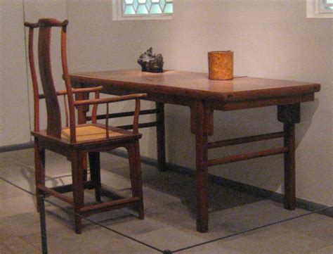 Armchair Table by File Yokeback Armchair And Painting Table Ming Dynasty
