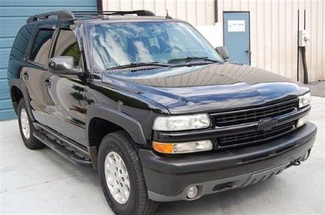 sell used warranty 2004 chevrolet chevy tahoe z71 4x4 4wd