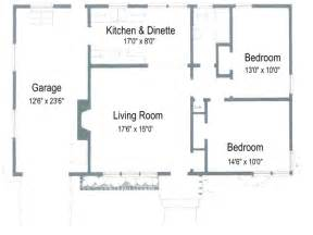 Two Bedroom House Floor Plans 2 Bedroom House Plans Free 2 Bedroom Ranch House Plans 1