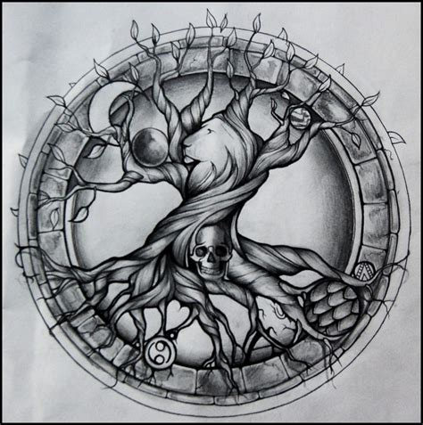celtic tree of life tattoo design on tree of celtic tree and thoughts