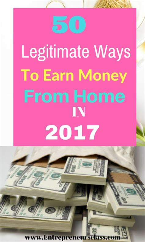 looking for legitimate ways to make money check out this