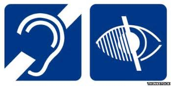 Blind Symbol Is It Time For A New Wheelchair Access Icon Bbc News