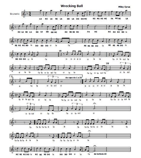 testo il re musica e spartiti gratis per flauto dolce gennaio 2014
