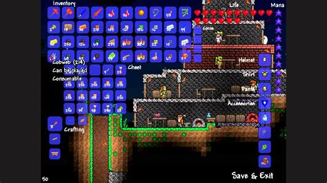 Terraria Rooms by Terraria Metal Fane Episode 1 1 Prep Storage Room