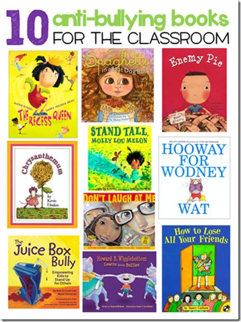 bullying picture books anti bullying on guidance lessons elementary