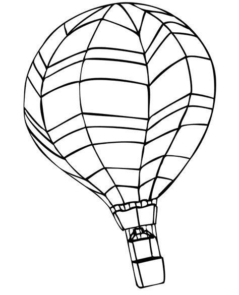 coloring book pages hot air balloon free printable hot air balloon coloring pages for kids