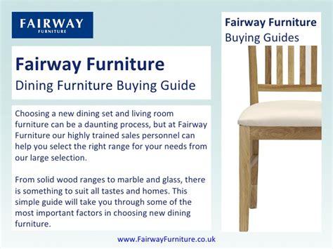Fair Way Furniture by Fairway Furniture Dining Furniture Buying Guide