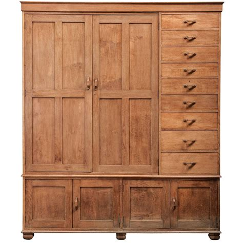 heals oak wardrobe at 1stdibs