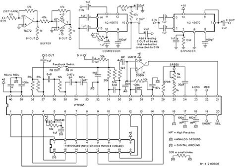 Es56031e electro pt2395 enhanced digital echo