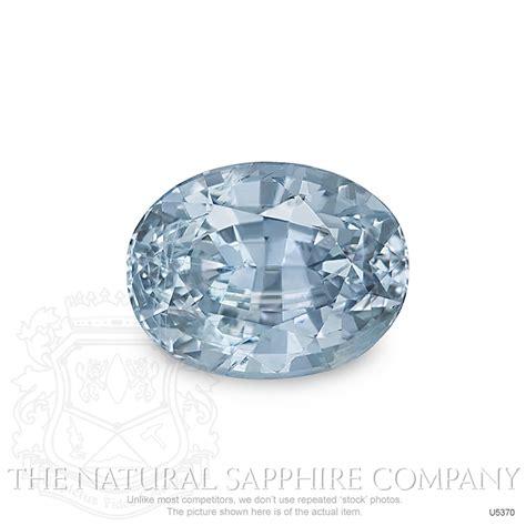 Gray Sapphire bluish gray sapphire oval 4 30 ct u5370