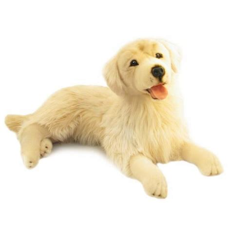 golden retriever with stuffed animal golden retriever stuffed animal about animals
