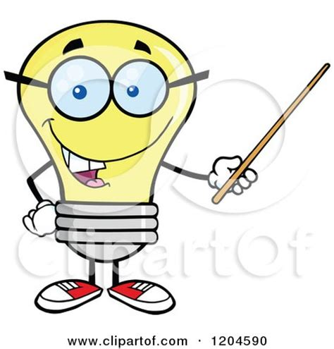 how to use happy light royalty free rf light professor clipart