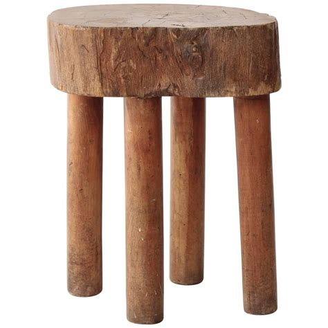 Wood Stump Chair by Vintage Wood Stump Stool At 1stdibs
