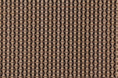 Vinyl Mesh Fabric For Sling Chairs by Sunbrella Ff50190 0001 Network In Toffee Woven Vinyl Mesh