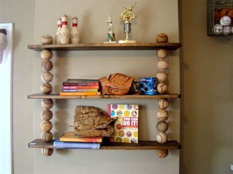 Sport Shelf by Creativity By Sam 2 Of 2 Baseball Themed