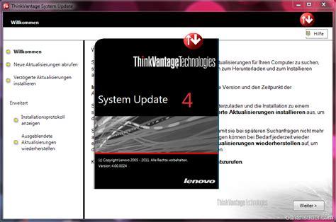 Lenovo Update Lenovo System Update 4 0 F 252 R Windows 7 Adrian Sauer
