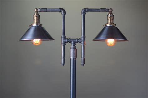 Industrial Style Floor L Vintage Floor L Industrial Style Lighting Iron Pipe