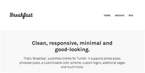 tumblr themes good for text 35 cool portfolio tumblr themes web graphic design