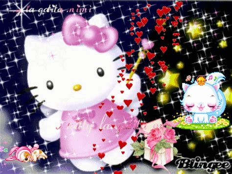 imagenes de kitty brillantes hello kitty brillantes imagui