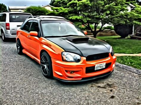 subaru wrx sti orange 25 best ideas about subaru wrx wagon on wrx