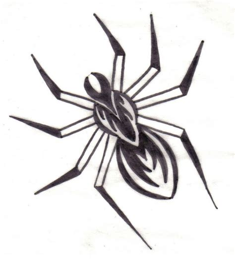 tribal tattoo spider spider images designs