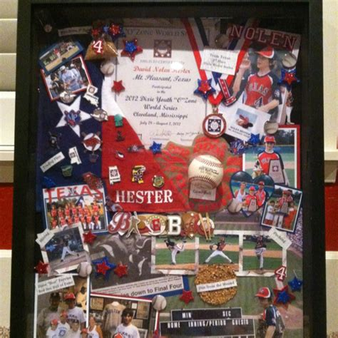 sports box ideas 1000 images about shadow box on