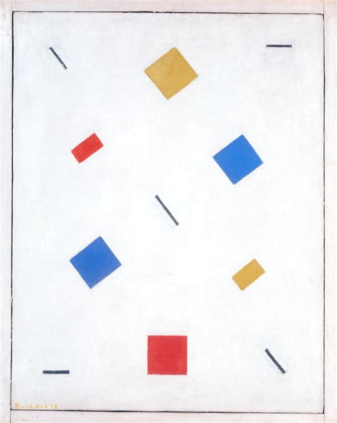 Composition Artwork by Composition Bart Van Der Leck Tate