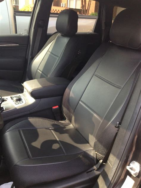 volvo xc90 car seat covers leatherette synthetic two front black car seat covers