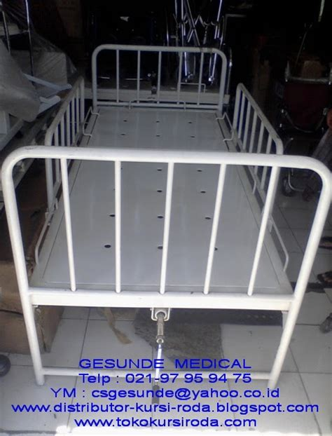 Ranjang Rumah Sakit Bekas harga ranjang bekas 1 crank jual sewa hospital bed