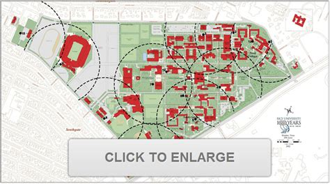 rice texas map rice university