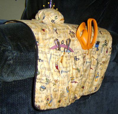 armchair sewing caddy free pattern and directions to sew an armchair sewing