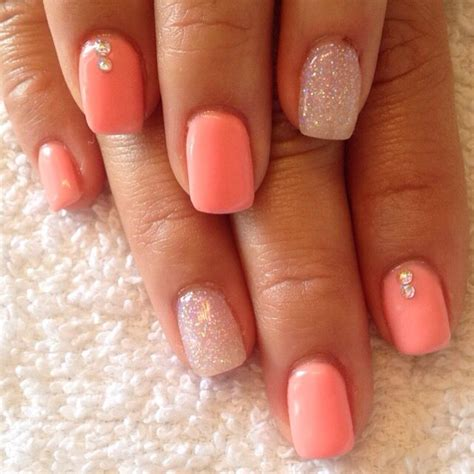 coral color nails 100 breathtaking ombre nails re pin nail exchange