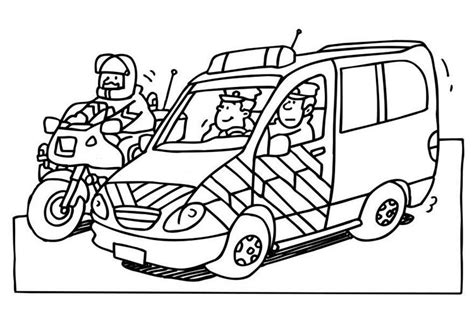 dibujos para colorear de policias free coloring pages of playmobil police