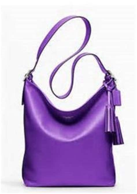 Coach Mini Duffle Purple 1000 images about purple purses on