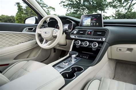 Genesis Auto Upholstery by 2019 Genesis G70 Test Drive Review Hyundai S Luxury Brand