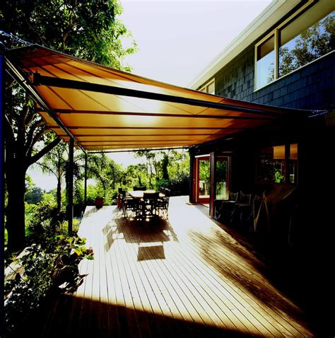 batten awnings contemporary deck sydney by